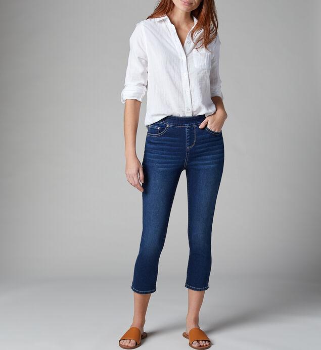 Maya High Rise Skinny Crop Jeans