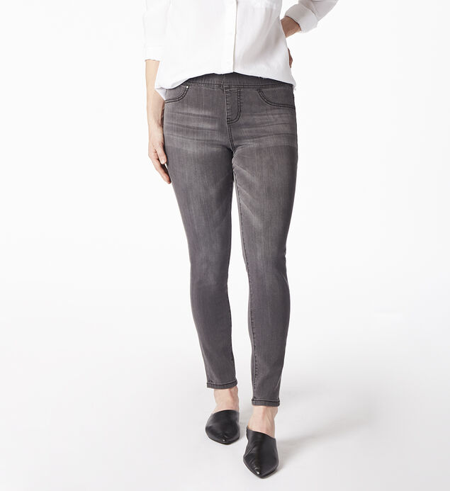 Marla Legging Grey Front