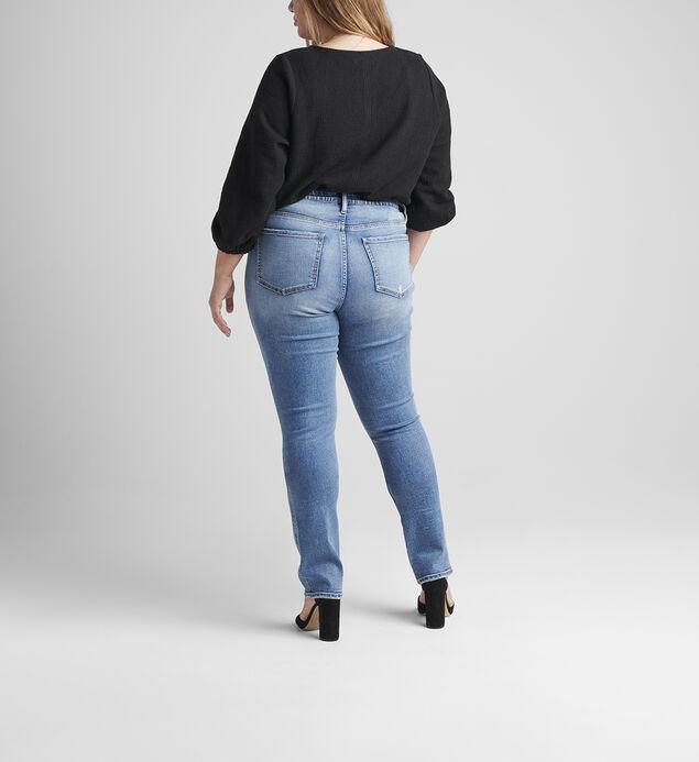 Ruby Mid Rise Straight Leg Jeans Plus Size, , hi-res
