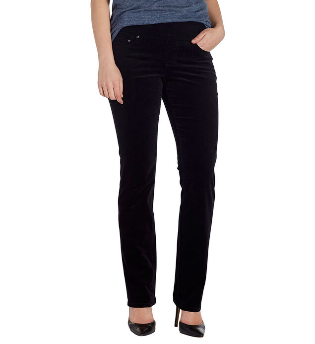 Petite Peri Straight, Black, hi-res