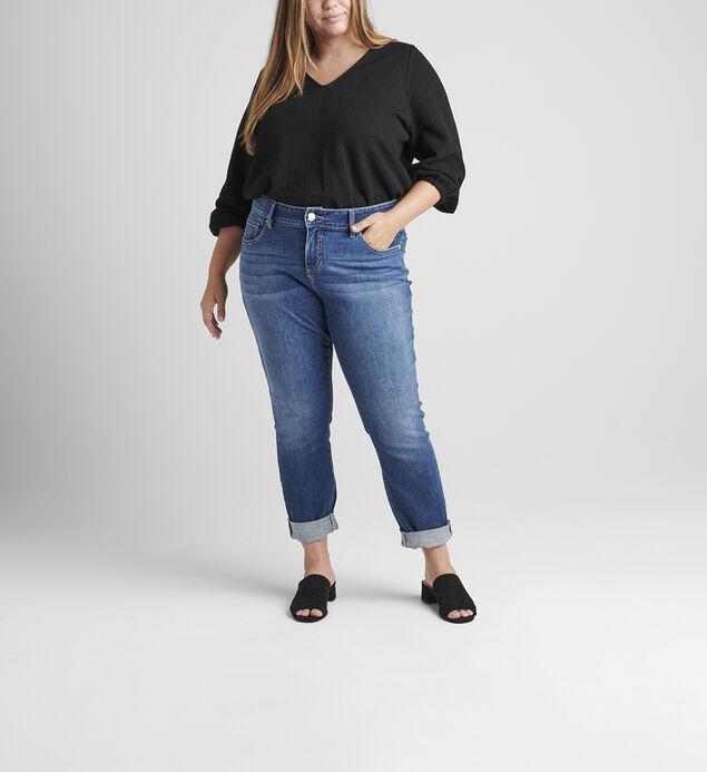 Carter Mid Rise Girlfriend Jeans Plus Size