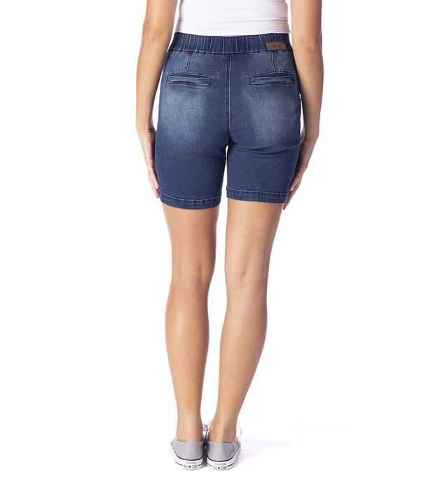 "Gracie Mid Rise 8"" Pull-On Short, , hi-res"