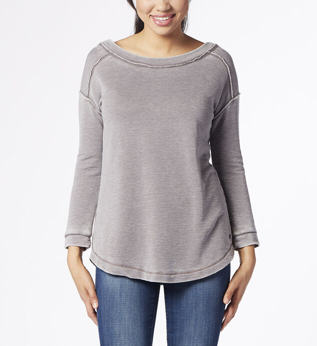 Belle Sweatshirt, Grey Streak, hi-res