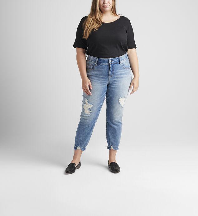 Carter Mid Rise Girlfriend Jeans Plus Size, , hi-res