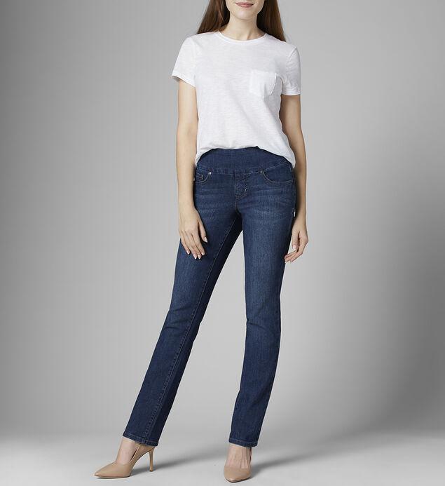 Peri Mid Rise Straight Leg Jeans