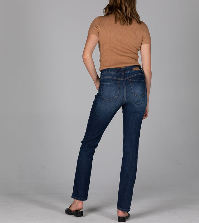 Opal Mid Rise Straight Leg Jeans, , hi-res