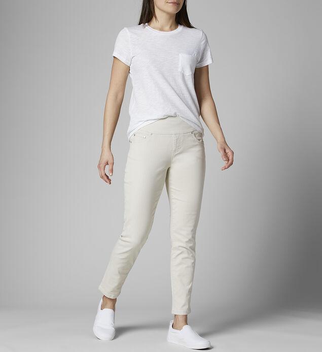 Amelia Mid Rise Slim Ankle Jeans