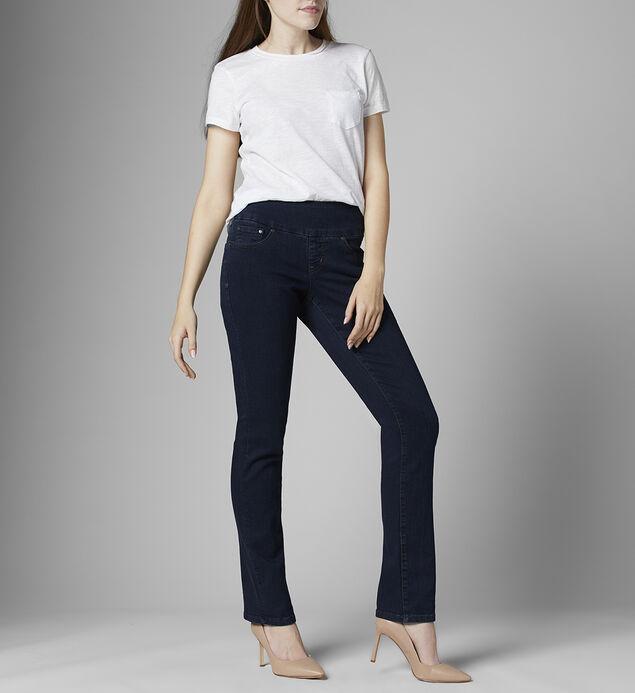 Peri Mid Rise Straight Leg Jeans Petite