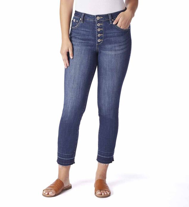 Gwen High Rise Slim Ankle, , hi-res