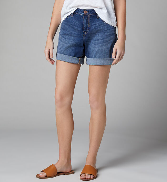 Carter Mid Rise Girlfriend Short, , hi-res
