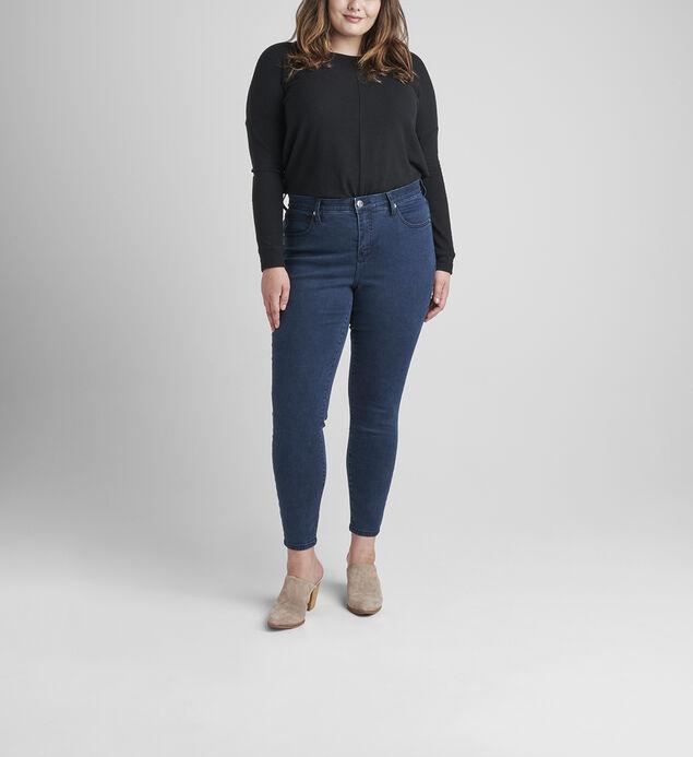 Cecilia High Rise Skinny Jeans Plus Size