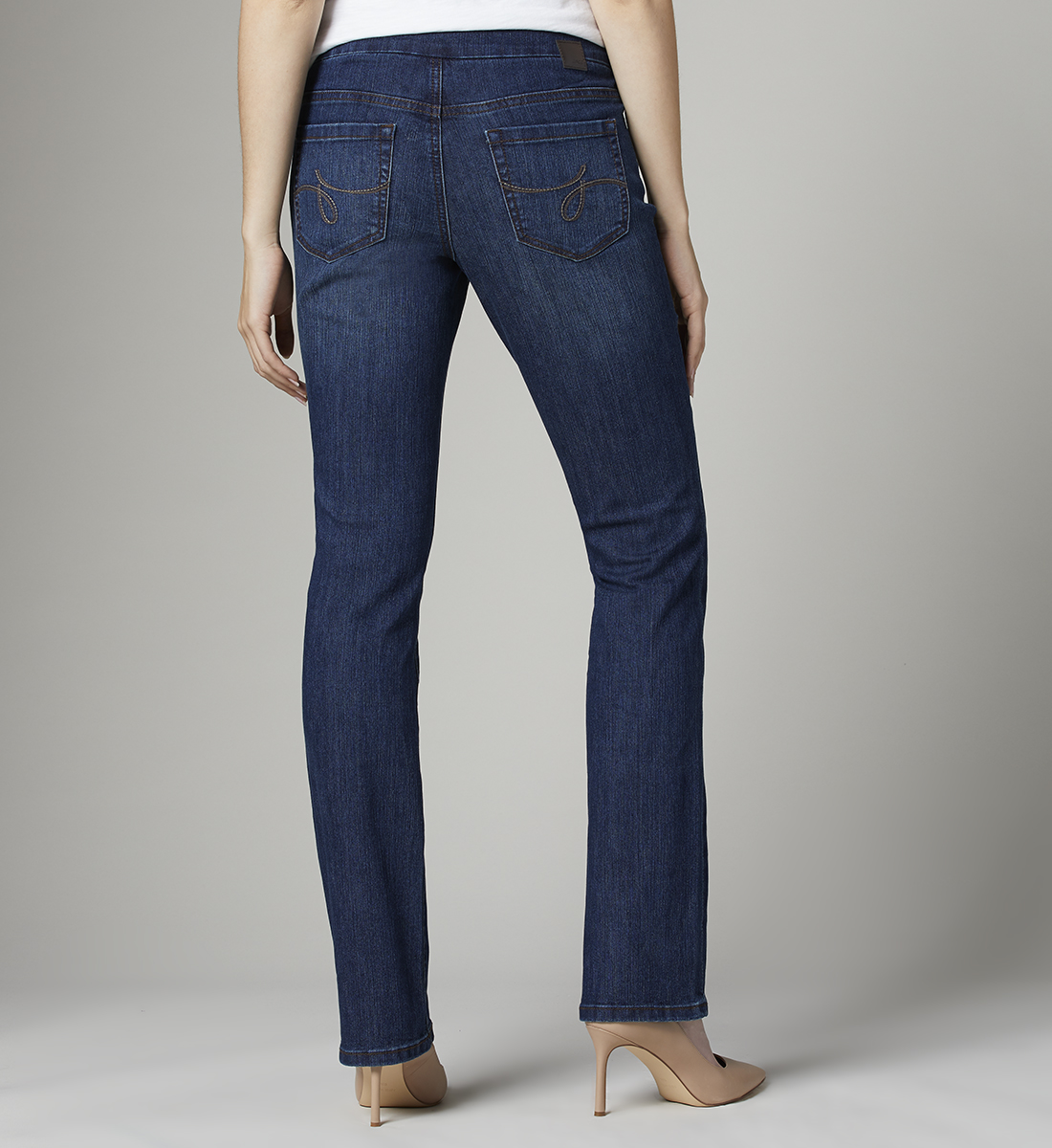 Paley Mid Rise Bootcut Jeans, , hi-res