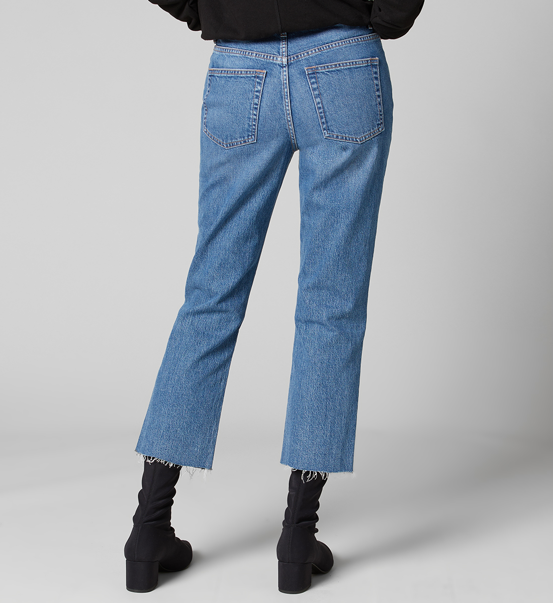 Stella High Rise Straight Leg Jeans Plus Size, , hi-res