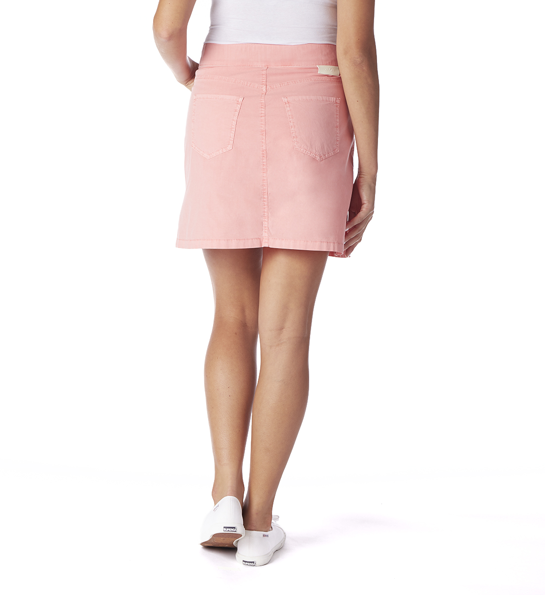 On The Go Poplin Skort, Flamingo, hi-res