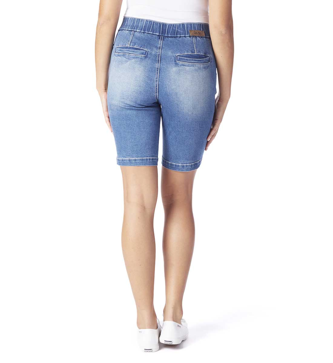 Gracie Mid Rise Bermuda Pull-On Short, , hi-res