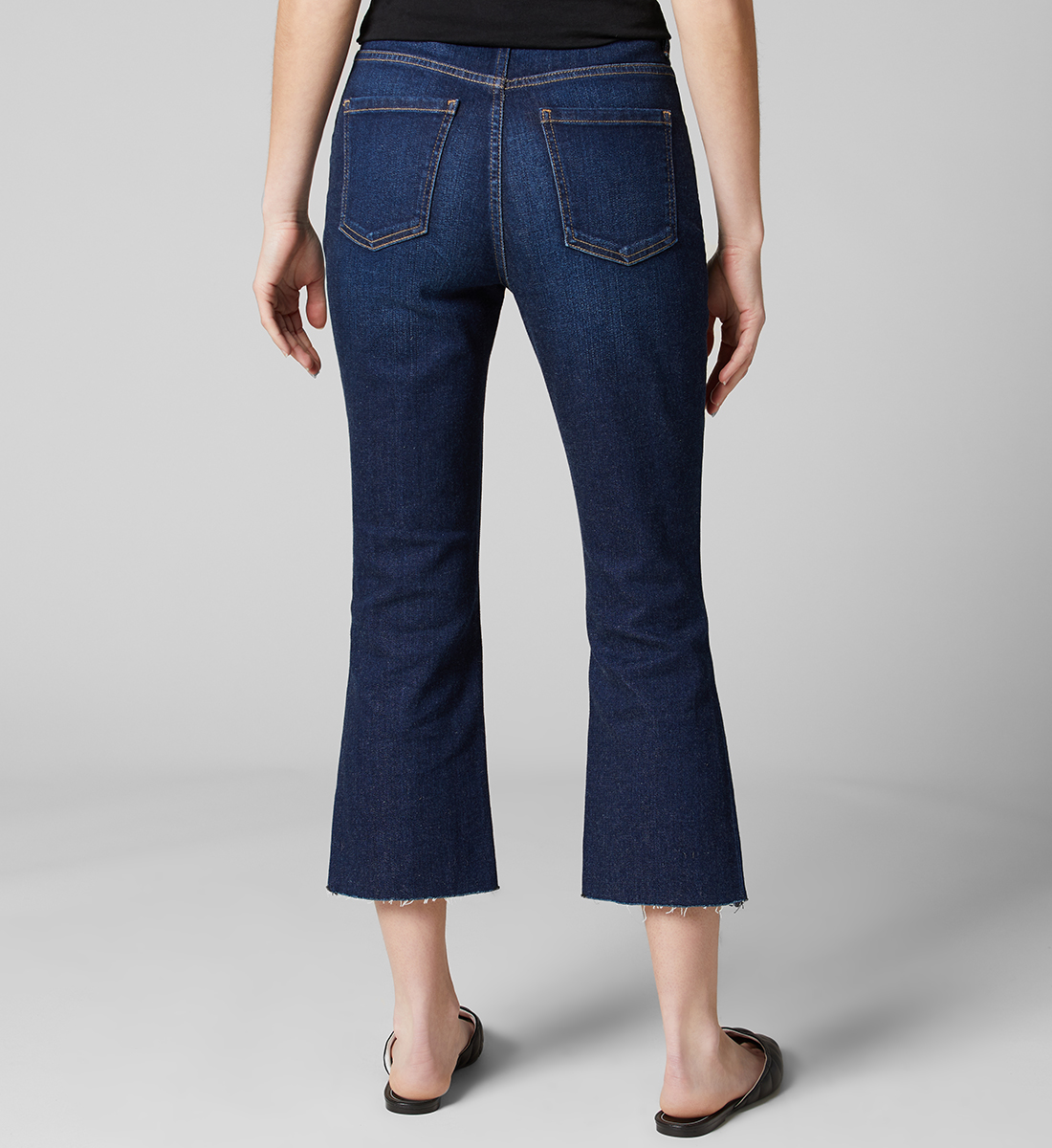 Mia High Rise Crop Bootcut Jeans - Sustainable Fabric, , hi-res