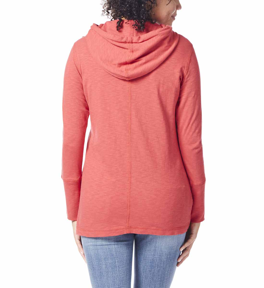 Gemma Hooded Tunic, Parrot Tulip, hi-res