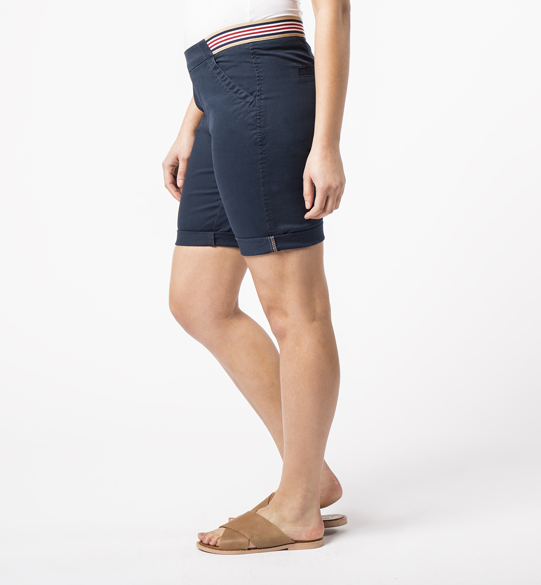 Gracie With Sport Stripe, Nautical Navy, hi-res