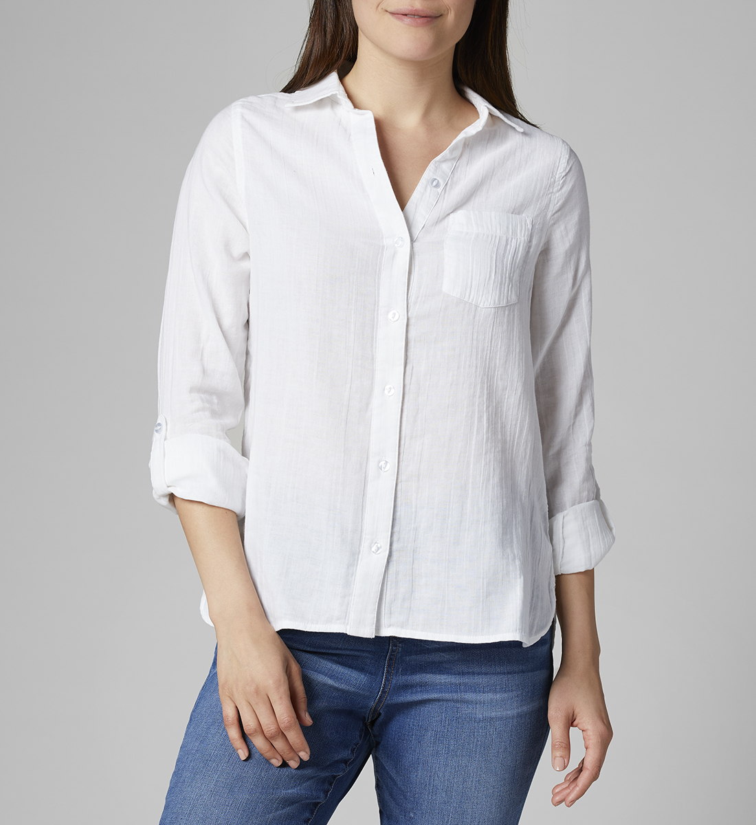 Long-Sleeve Adley, White, hi-res