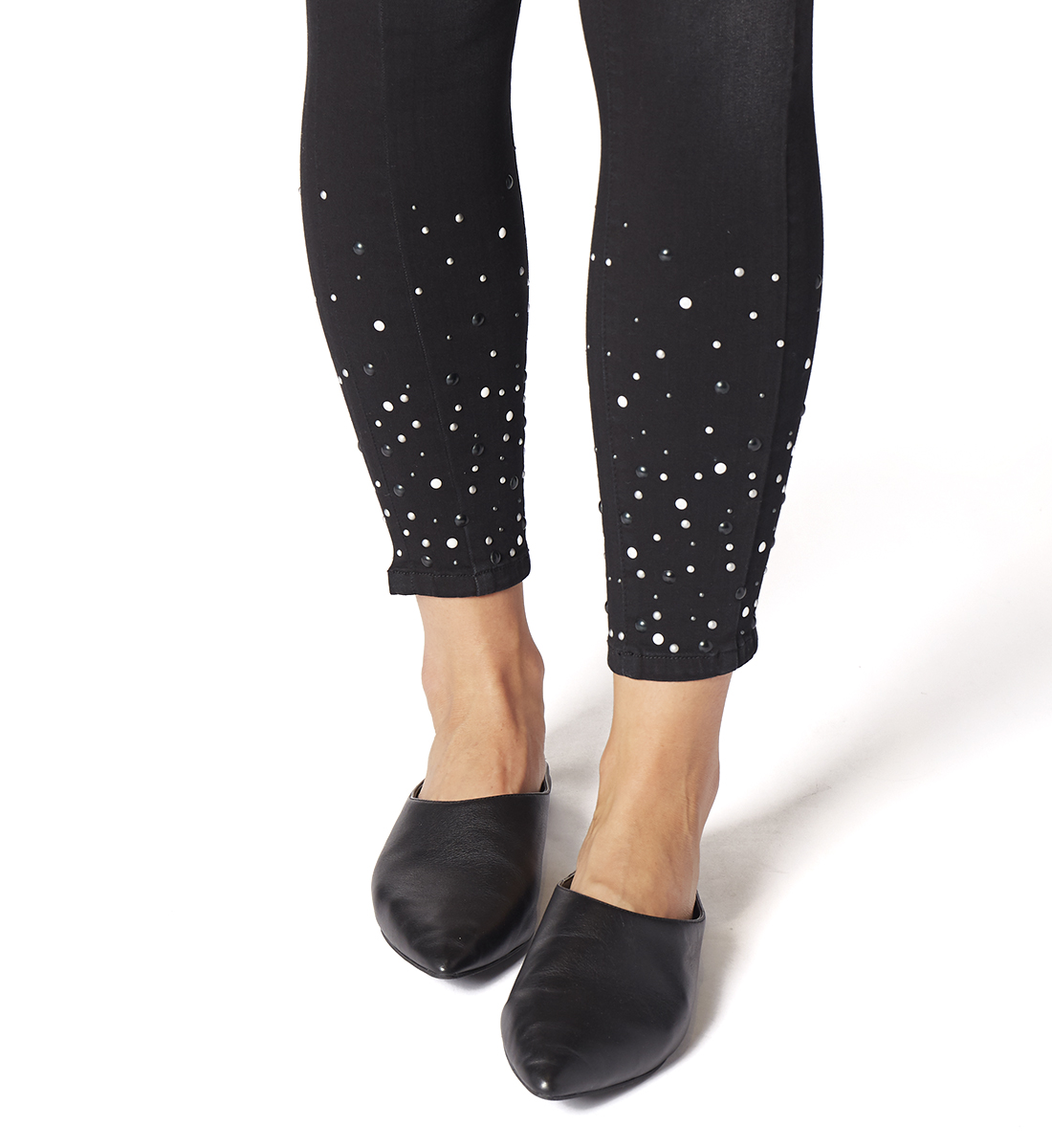 Marla Legging With Pearls, , hi-res