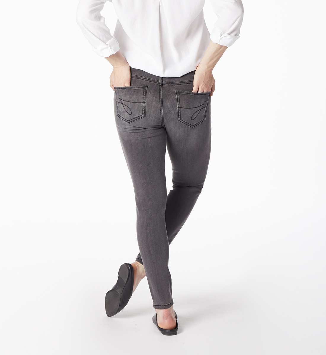 Marla Legging Grey Back