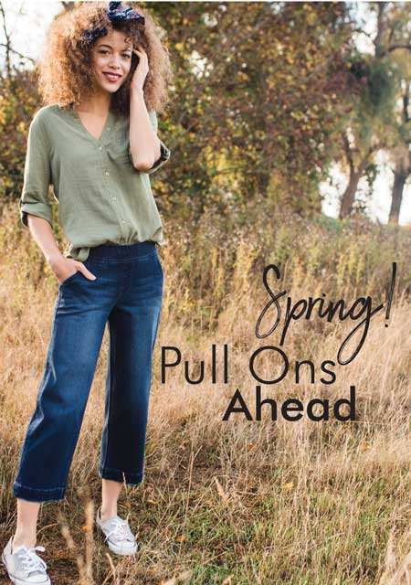 JAG Jeans | Spring Pull Ons Ahead! | Shop Now