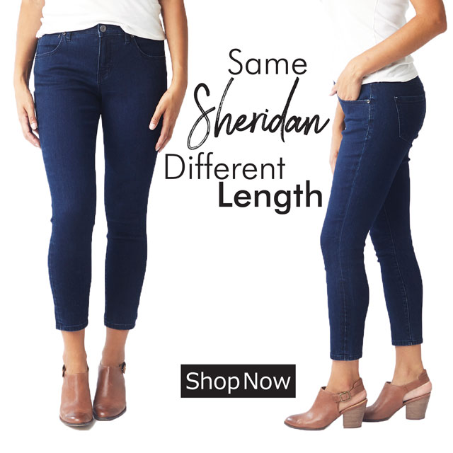 Jag Jeans | Same Sheridan, Updated Length | Shop Now