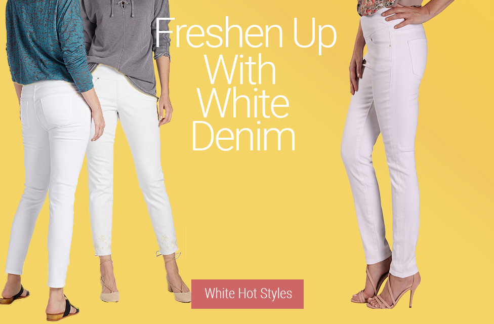 JAG Jeans | Freshen Up With White Denim | White Hot Styles