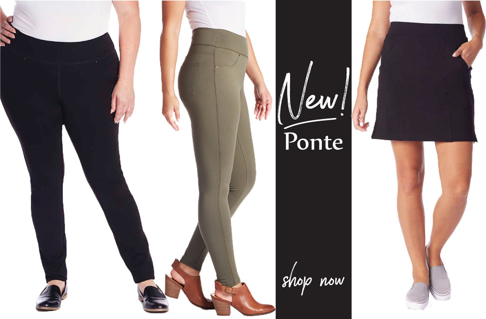 Jag Jeans New Ponte Now