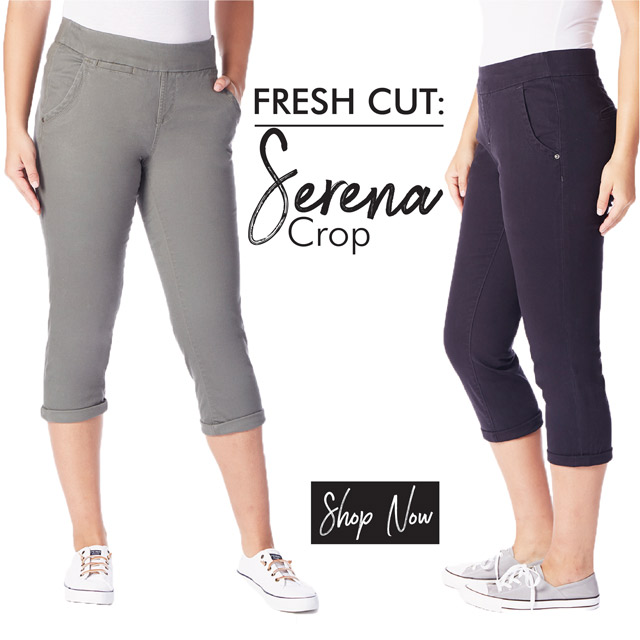 JAG Jeans | Fresh Cut: Serena Crop | Shop Now