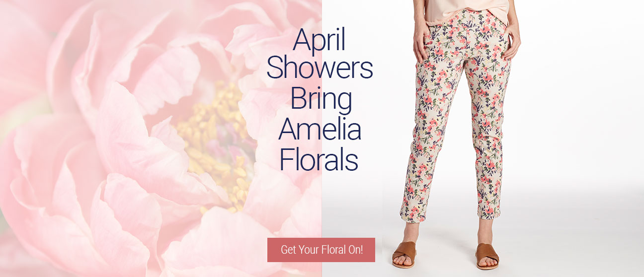 JAG Jeans | April Showers Bring Amelia Florals |  Get Your Floral On!