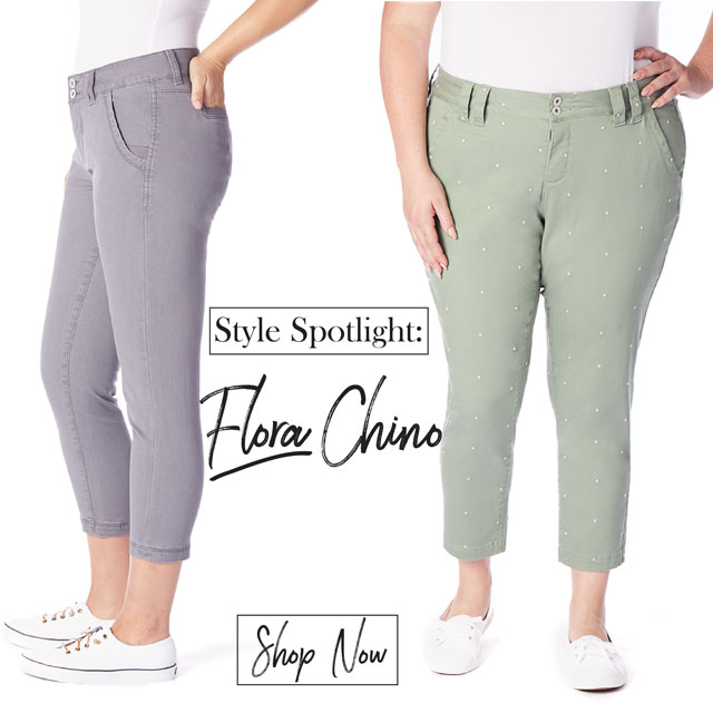 JAG Jeans | Style Spotlight | Flora Chino | Shop Now