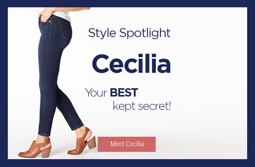 JAG Jeans | Style Spotlight: Cecilia - Your Best Kept Secret! | Meet Cecilia