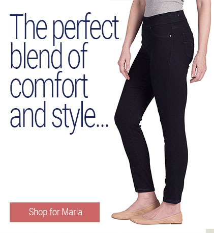 JAG Jeans | The perfect blend of comfort and style… | The fit of a legging, with the look and feel of denim! Marla is everything you ever wanted in a jegging, and more… | Shop for Marla