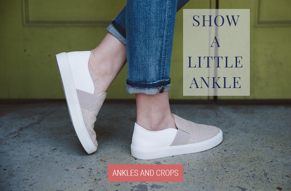 JAG Jeans | SHOW A LITTLE ANKLE | Shop Crops and Ankles
