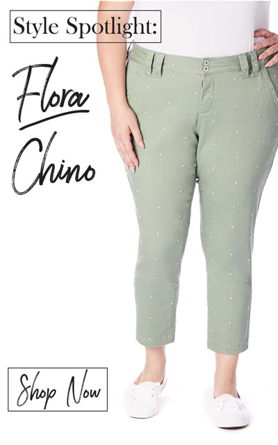 AAG Jeans | Style Spotlight | Flora Chino | Shop Now