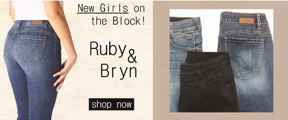Shop our new styles, Ruby & Bryn