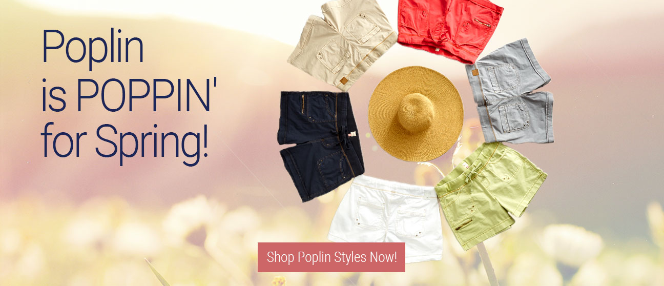 JAG Jeans | Poplin is POPPIN' for Spring! | Shop Poplin Styles Now!