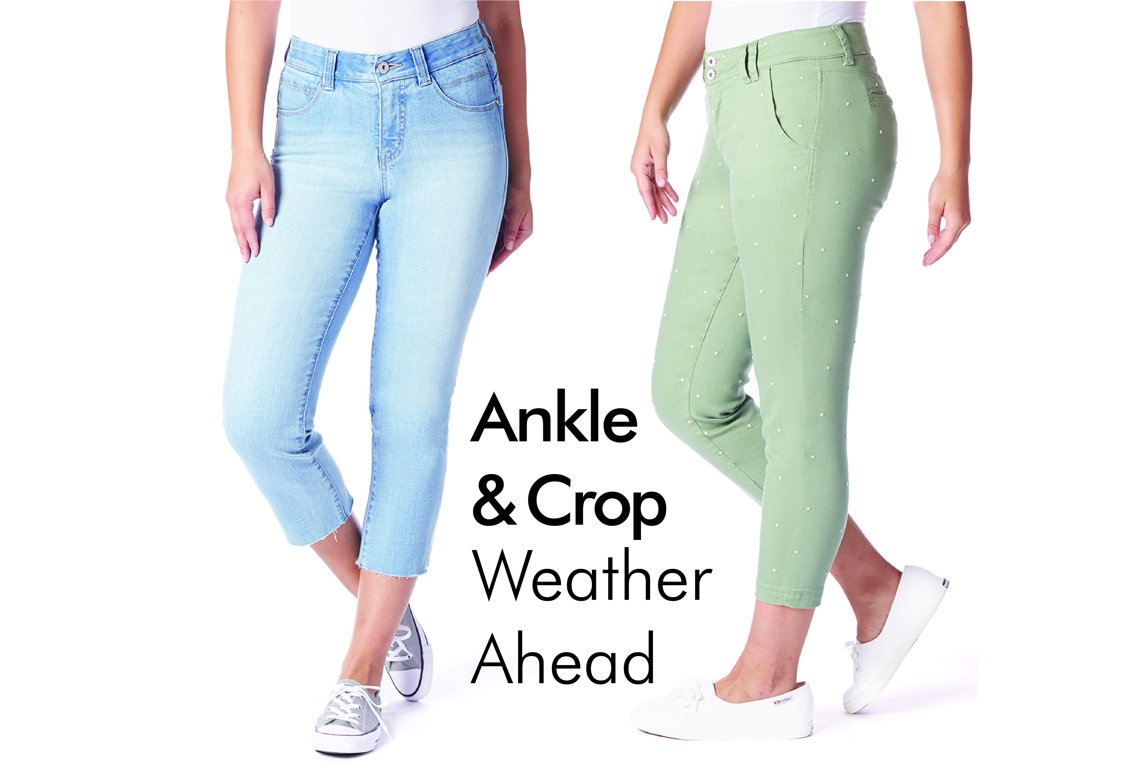 JAG Jeans | Ankle & Crop Weather Ahead | Shop now