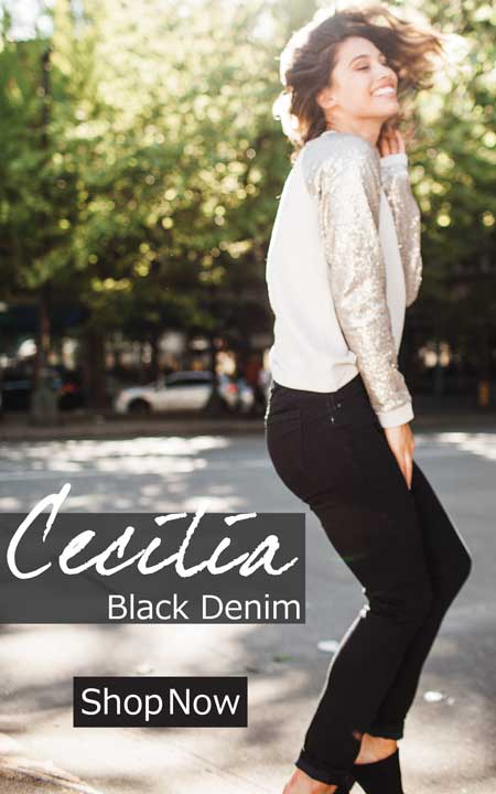 Cecilia Black Denim | Jag Jeans