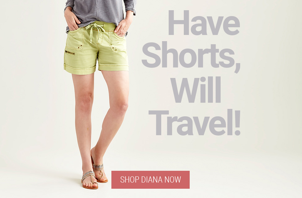 JAG Jeans | Have Shorts, Will Travel! | SHOP DIANA