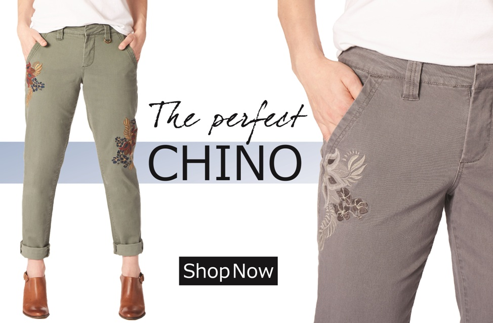 The Perfect Chino | Shop Dana | Jag Jeans